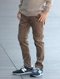[Rakuten Fashion]BEAMS / ストレッチ テーパード コーデュロイ パンツ BEAMS MEN ビームス メン パンツ/ジーンズ ジーンズその他 ベージュ グレー ブラウン ネイビー【送料無料】