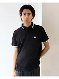 FRED PERRY * BEAMS / 別注 Double Collar Polo Shirt BEAMS MEN ビームス メン カットソー ポロシャツ ブラック ブルー【送料無料】[Rakuten Fashion]