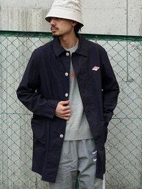 [Rakuten Fashion]DANTON × BEAMS / 別注 ステンカラー コート 20SS BEAMS MEN ビームス メン コート/ジャケット ステンカラーコート ネイビー グリーン【送料無料】
