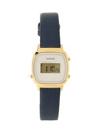 [Rakuten Fashion]【WEB限定】CASIO / LADY'S DIGITAL LA670WFL BEAMS BOY ビームス ウイメン ファッショングッズ 腕時計 ネイビー ベージュ【先行予約】*【送料無料】