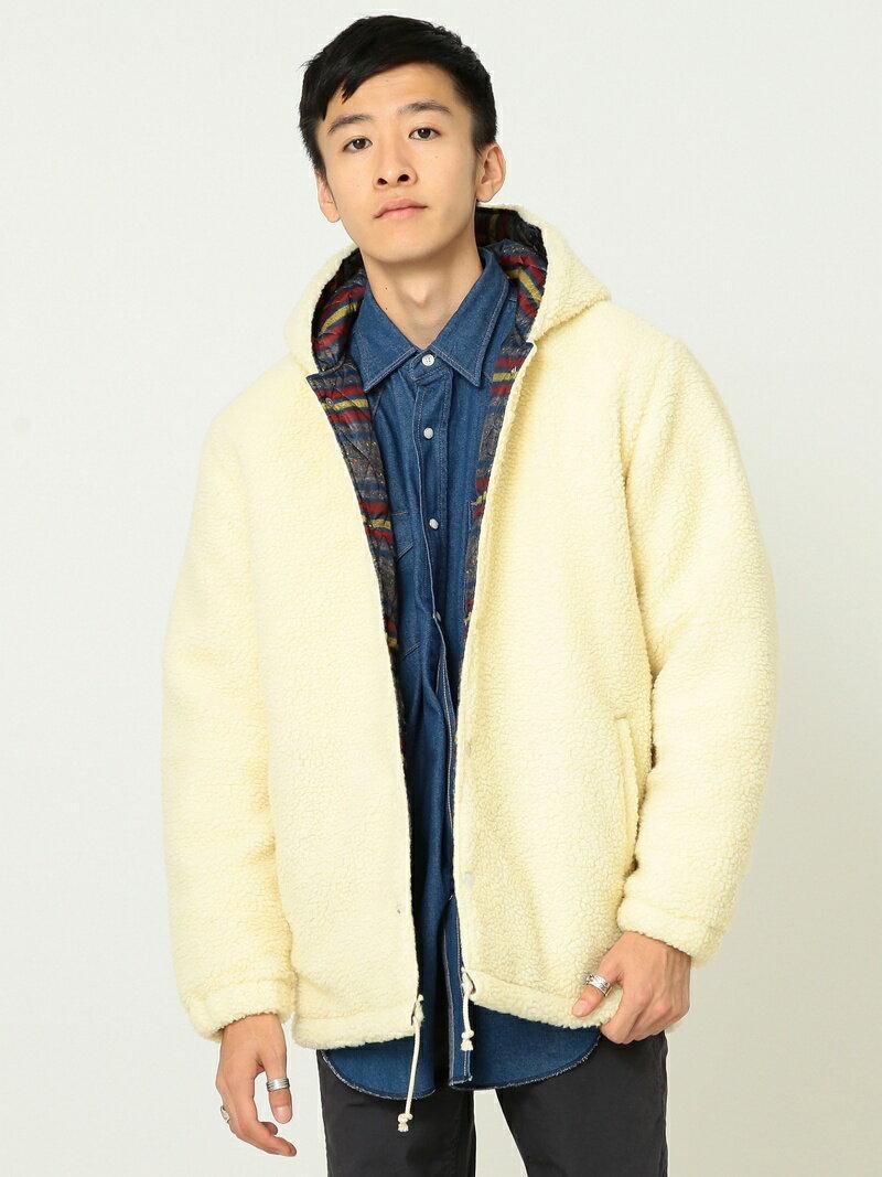 [Rakuten BRAND AVENUE]【SALE/30%OFF】Lee × BEAMS / 別注 Boa Hood Jacket BEAMS MEN ビームス メン コート/ジャケット【RBA_S】【RBA_E】【送料無料】