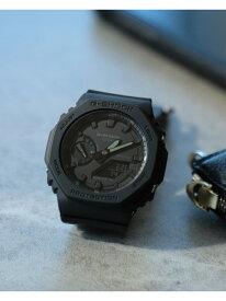 G-SHOCK / GA2100-1A1JF アナデジウォッチ BEAMS MEN ビームス メン ファッショングッズ 腕時計 ブラック ホワイト ベージュ【送料無料】[Rakuten Fashion]