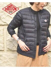[Rakuten Fashion]DANTON / インナー ダウン ジャケット Ray BEAMS ビームス ウイメン コート/ジャケット ダウンジャケット ブラック カーキ ネイビー パープル【送料無料】