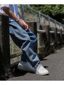[Rakuten Fashion]BEAMS / バギーテーパードデニム ビームス BEAMS MEN ビームス メン パンツ/ジーンズ ワイド/バギーパンツ ブルー ブラック【送料無料】