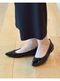 [Rakuten Fashion]SEPTEMBER MOON / ポインテッド バレエシューズ レイビームス  Ray BEAMS ビームス ウイメン シューズ フラット ブラック ベージュ レッド【送料無料】