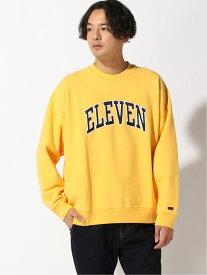 [Rakuten Fashion]LEVI'S(R) × Stranger Things / ELEVEN CREWNECK BEAMS MEN ビームス メン カットソー スウェット イエロー【送料無料】