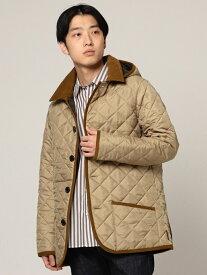 [Rakuten Fashion]Traditional Weatherwear × BEAMS / 別注 WAVERLY フーディー BEAMS MEN ビームス メン コート/ジャケット コート/ジャケットその他 ベージュ【送料無料】