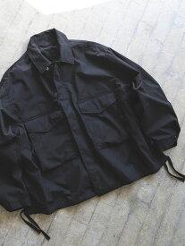 [Rakuten Fashion]BEAMS / ルーズ ミリタリーブルゾン BEAMS MEN ビームス メン コート/ジャケット ブルゾン ブラック カーキ【送料無料】