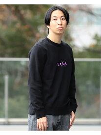 [Rakuten Fashion]BEAMS / ロゴ スウェット クルーネック BEAMS MEN ビームス メン カットソー Uネックカットソー ブラック ネイビー グレー【送料無料】
