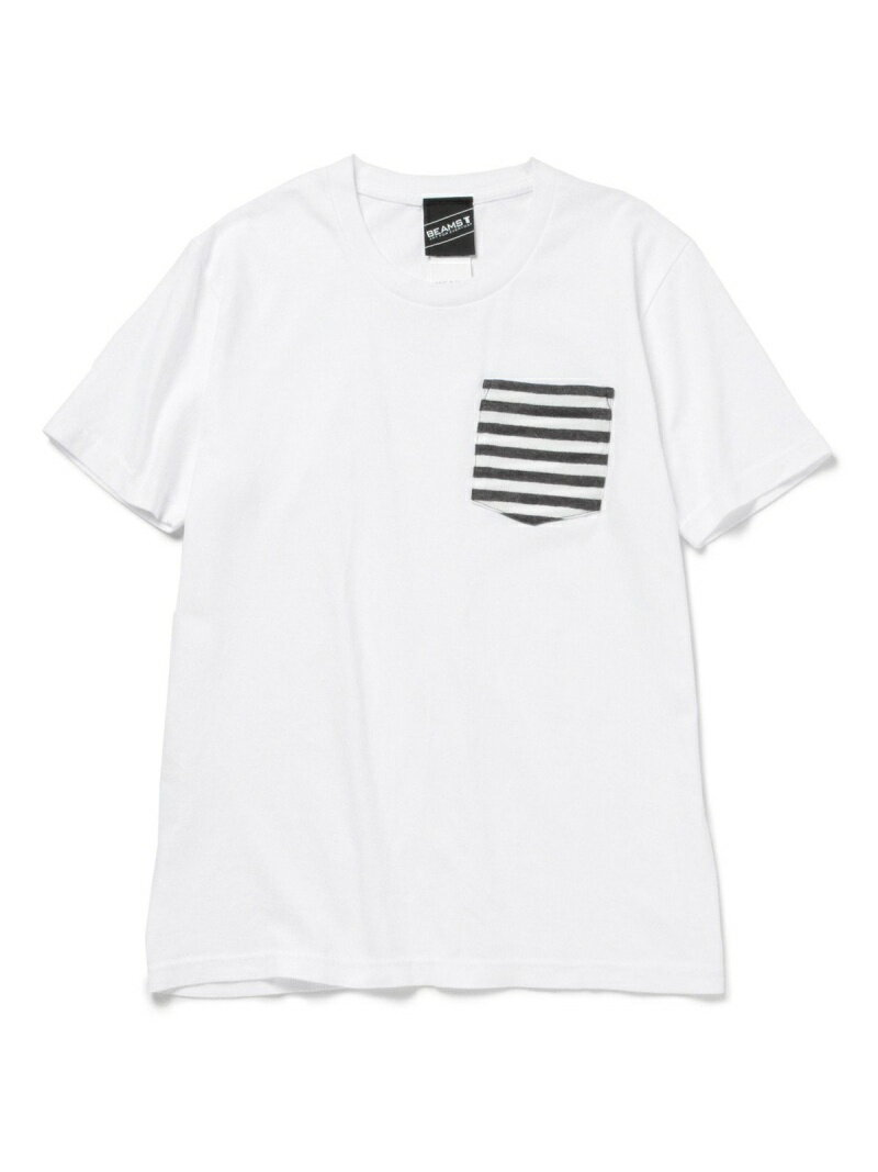 [Rakuten BRAND AVENUE]【SALE/20%OFF】【SPECIAL PRICE】BEAMS T / ボーダーポケット T BEAMS T ビームスT カットソー【RBA_S】【RBA_E】