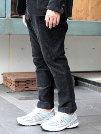 [Rakuten Fashion]NEW BALANCE × BEAMS PLUS / 別注 コーデュロイ トラウザー BEAMS MEN ビームス メン パンツ/ジーンズ フルレングス グレー【送料無料】