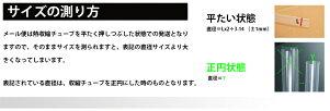 【訳あり】メール便対応熱収縮チューブ透明2.0mmTHS02