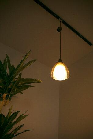 ペンダントライトおしゃれ1灯ガラス天井照明照明北欧LED電球対応ダイニング照明器具おしゃれ人気ガラスリビング用居間用寝室照明ダイニング用食卓用PL-GL13E17ビームテック