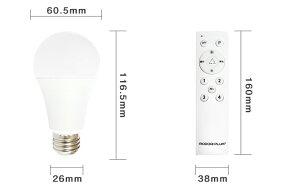 LED電球調光調色リモコン60w型工事不要玄関廊下寝室リビング食卓キッチン洗面台電球