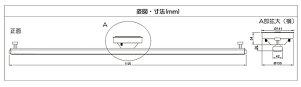 配線ダクトレール1Mライティングレールおしゃれ配線ダクトレール天井照明照明器具ライトペンダントライトスポットライト簡易取付式耐荷重5kg以上レールライト用レール照明DRS100W白DRS100K黒照明LEDランプビームテック