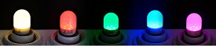 【本日Maxポイント還元中!】10個セットLED電球E17ナツメ球T型電球色赤緑青ピンクLDT1-H-E17/BT--10ビームテック