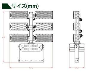 LED投光器720W投光器LED屋外看板駐車場作業灯防犯灯LET720ビームテック