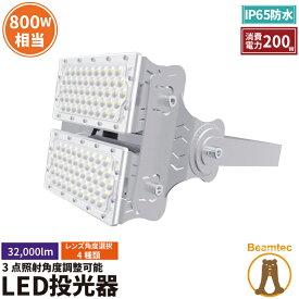 LED投光器 200W 投光器 LED 屋外 看板 駐車場 倉庫 工場 作業灯 防犯灯 LED高天井 照明器具 LEP200S ビームテック