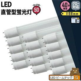 50本セット 3年保証 LED蛍光灯 40W 直管 昼白色 LTG40YT--50 ビームテック