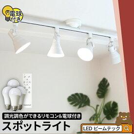 シーリングライト おしゃれ スポット LED ライト 天井照明 ライティングレール ダクトレール RAIL-SET53 ビームテック