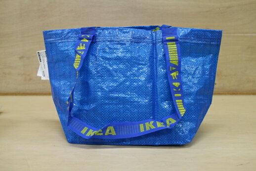 【メール便送料無料】IKEA イケア FRAKTA キャリーバッグ Sサイズ / エコバッグ お買い物袋 ブルーバッグ 無地