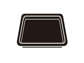 【土日もあす楽対応♪】【送料無料】パナソニック A0603-10M0 オーブン用角皿 / Panasonic (沖縄は送料無料対象外)