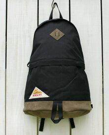 KELTY Vintage Daypack HD 2 / backpack cordura leather bottom / Black ケルティ ケルティー ヴィンテージ デイパック HD 2 / バックパック リュック コーデュラ レザーボトム / ブラック 定番 クラシック