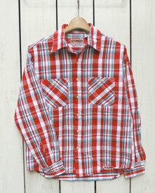 CAMCO mfg Heavy Weight Flannel Shirts Long Sleeve / 17-4 カムコ ヘビーウエイト フランネル シャツ 長袖 ネルシャツ 定番 レッド ホワイト 17 camco work ネルシャツ ヘビーネル