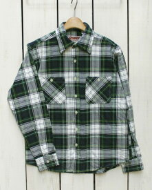 CAMCO mfg Heavy Weight Flannel Shirts Long Sleeve / 18-i-19 カムコ ヘビーウエイト フランネル シャツ 長袖 ネルシャツ 定番 ホワイト ネイビー グリーン camco work ネルシャツ ヘビーネル