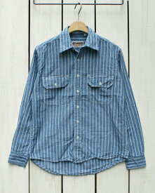 CAMCO Long Sleeve Chambray Work Shirts Blue Stripe カムコ シャンブレー ワーク シャツ / 長袖 ブルー ストライプ camco factory rrl polo standard カムコ