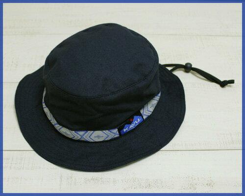 再入荷 KAVU Strap Bucket Hat / cotton canvas Navy カブー ストラップ バケット ハット / キャンバス ネイビー 紺 定番 アウトドア made in usa kavu outdoor camp fes trek