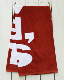 Levi's Red Tab Pool Towel / Beach bath logo / Red リーバイス レッド タブ プール タオル ビーチ バス 大きめ レッド ホワイト levis levi strauss jeans 19s