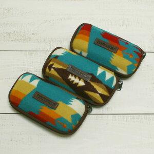 柄選べます♪ Pendleton Eyeglass Case / sunglass Tucson Turquoise 3-type ペンドルトン アイグラス ケース メガネ サングラス ハード ターコイズ 3パターン / ネイティブ ウール FABRIC MADE IN USA pendleton native