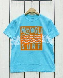 Mowgli Surf Wild Surf Tee / shortsleeve Lost Blue / batik モーグリ サーフ プリント バティック Tシャツ / 半袖 ロスト ブルー Made in USA mowgli