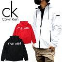 Calvin Klein カルバンクライン ウインドブレーカーCM130137メンズ ジャケット ナイロンパーカー ライトアウター…