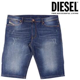 ディーゼル 短パン DIESEL メンズ デニム ショートパンツ ハーフパンツ SHISHORT R120B DENIM インディゴ即納 正規品