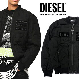 DIESEL ディーゼル メンズ ダウンジャケットW-TANAKA ブルゾン MA-1アウター ジャケット ジャンバー ナイロンジャケット大きいサイズあり 黒 ブラック