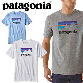 パタゴニア PATAGONIA メンズ 半袖 TシャツM,S SHOP STICKER RESPONSLBILL-TEE39175 S/S Tee ティーシャツ T-SHIRTSカットソー トップス アウトドア USAモデル