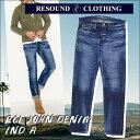 【RESOUND CLOTHING】リサウンドクロージング メンズデニムRC1 JOHN DENIM IND A/RC1-ST-002デニム/ジーパン/ジーン…