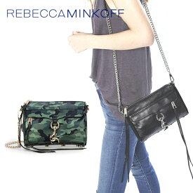 レベッカミンコフ ショルダーバッグ ミニクラッチバッグ 2WAY カモフラージュ 迷彩柄 Camo REBECCA MINKOFF チェーンバッグ MINI MAC HP35ICMX01-302 鞄