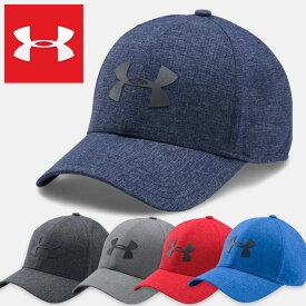アンダーアーマー メンズスポーツキャップ 帽子 ゴルフ UNDER ARMOUR MENS COOLSWITCH AV 2.0 CAP 1291856