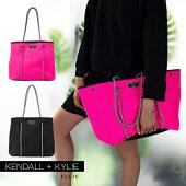 ケンダルアンドカイリートートバッグハンドバッグネオプレントートエリーレディース女性婦人Kendall+KylieELLIE