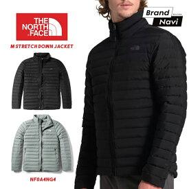 【サイズ交換1回無料】ノースフェイス THE NORTH FACE ダウン コート ジャケット アウター M STRETCH DOWN メンズ ストレッチ NF0A4NG4 軽量 男性 紳士