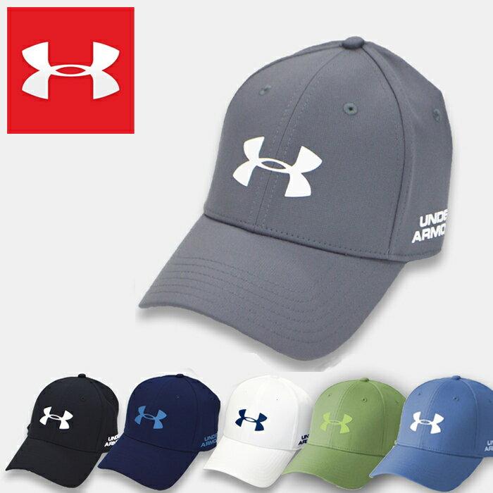 UNDER ARMOUR MENS GOLF HEADLINE 2.0 CAP アンダーアーマー メンズスポーツキャップ 帽子 ゴルフ グレー ブラック ネイビー ホワイト