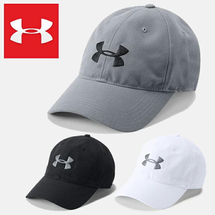 UNDER ARMOUR MENS CAP 帽子 ゴルフ グレー アンダーアーマー メンズスポーツキャップ