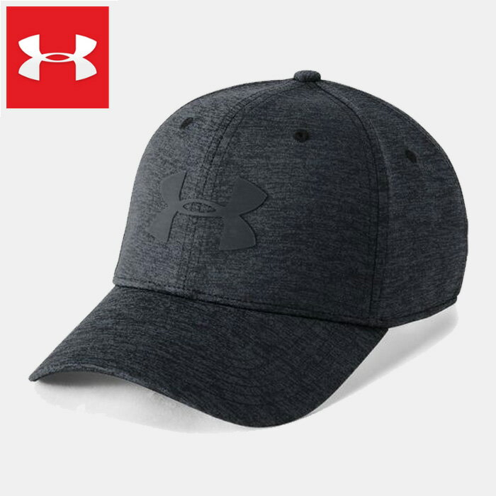 UNDER ARMOUR MENS TWIST CLOSER 2.0 CAP 1305041-001 アンダーアーマー メンズ スポーツキャップ 帽子 ゴルフ グレー