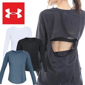 アンダーアーマー レディース ルーズ ファッション Tシャツ UNDER ARMOUR 1324138*