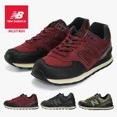 メンズ紳士男性レディース女性婦人シューズ靴newbalance574ニューバランスウォーキングML574LHスニーカー