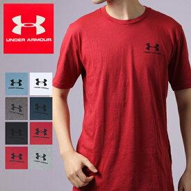 アンダーアーマーヒートギア メンズ半袖Tシャツ UNDER ARMOUR LEFT CHEST SS 1326799*