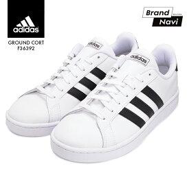 アディダス スニーカー メンズ シューズ 靴 グランドコートレザー adidas GRANDCOURT LEA U F36392 ホワイト